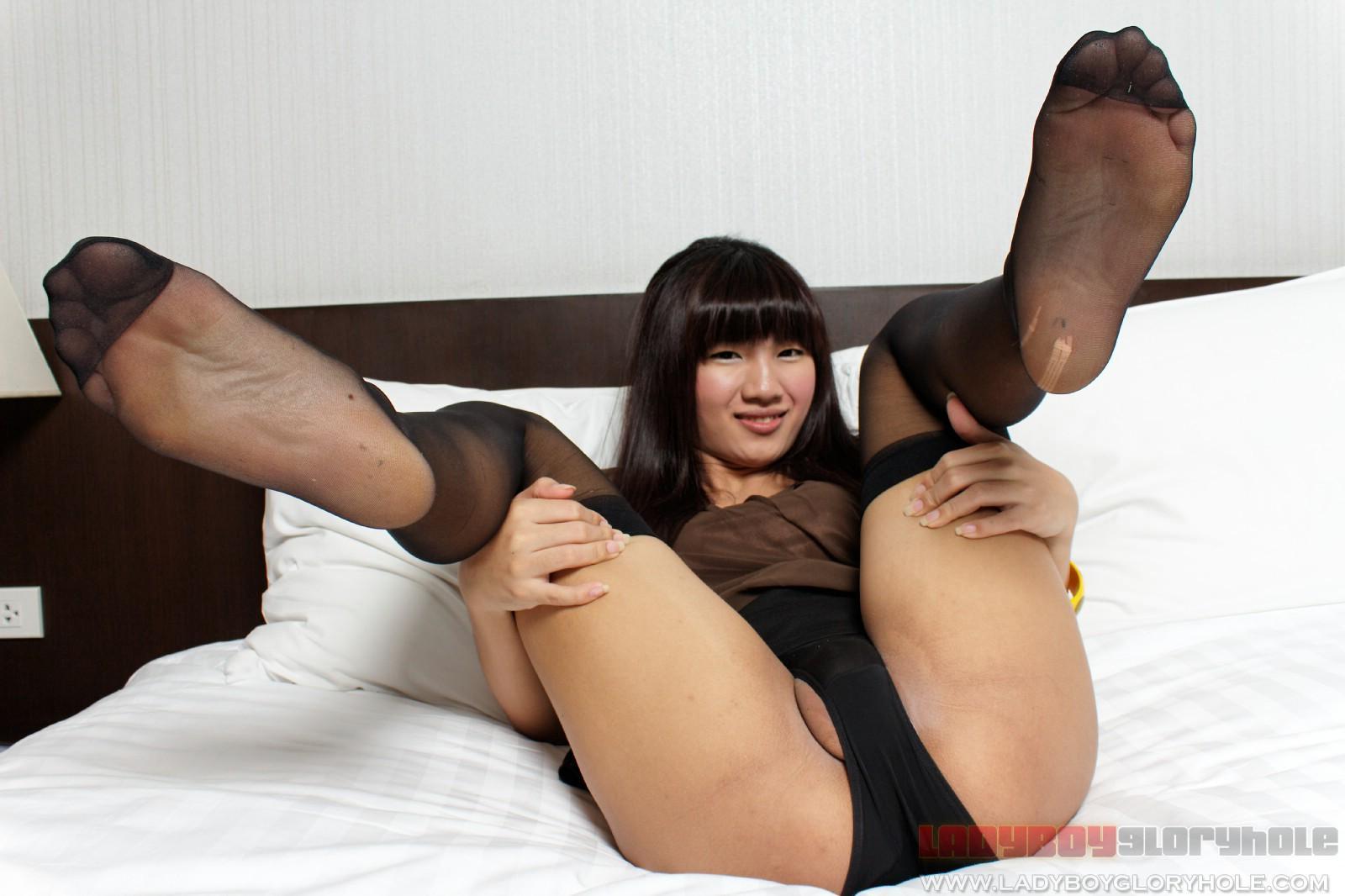 Ladyboy nylons free porn